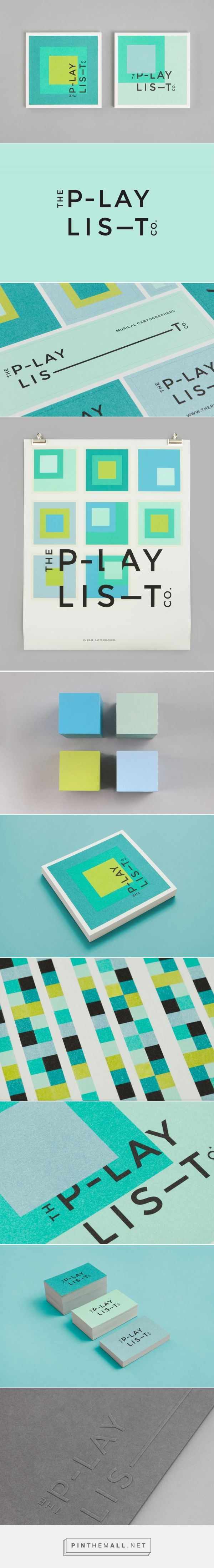 New Brand Identity for The Playlist Co. by Blok