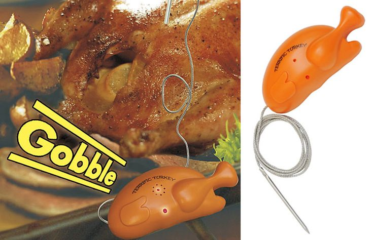 Gobbling Turkey Timer and Thermometer