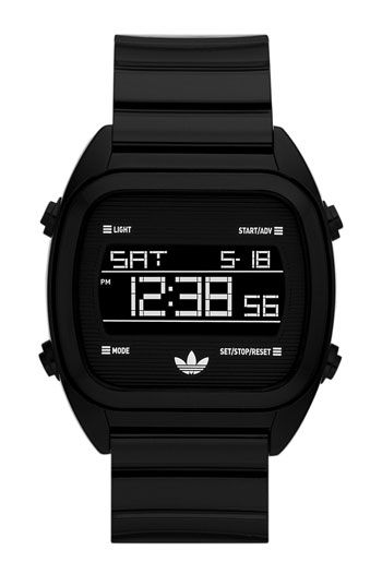 Adidas Originals 'Sydney' Digital Resin Strap Watch available at #Nordstrom
