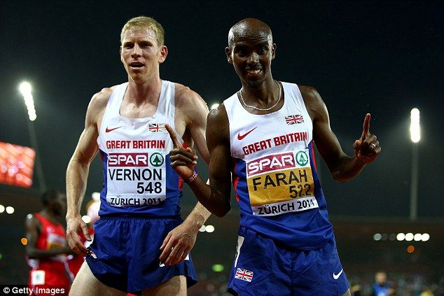 Mo Farah slammed by Andy Vernon for foul-mouthed outburst #dailymail