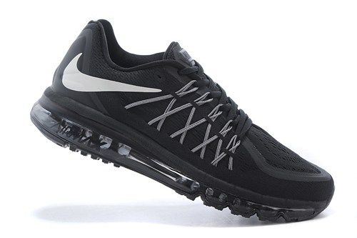cheap 698902-001 Air Max all black mens running shoes 2015