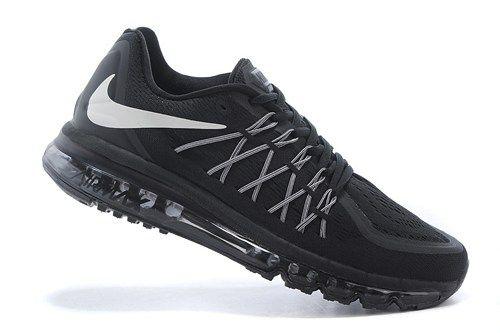cheap 698902-001 Air Max all black mens running shoes 2015