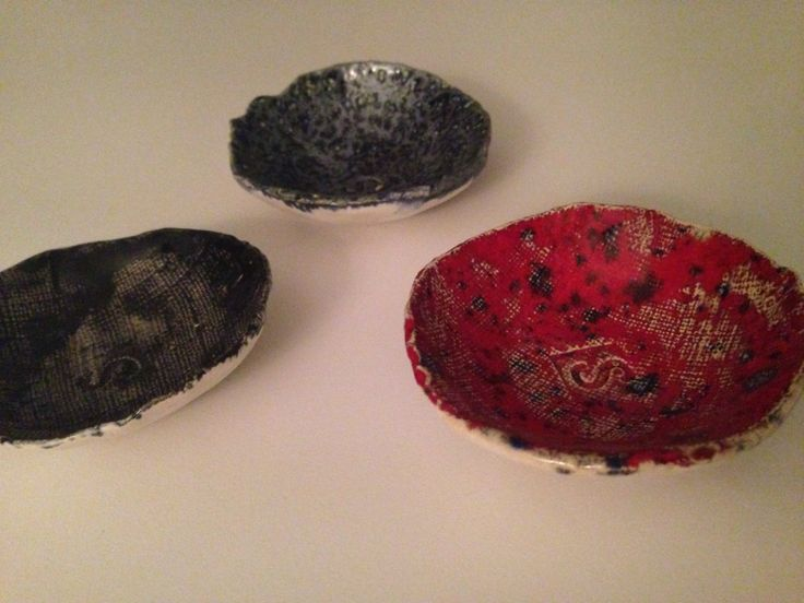 Small bowls for SALT at the table, or one for each guest