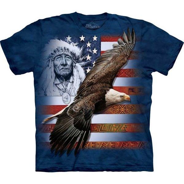 The Mountain Native American T-shirt   Spirit of America