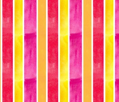 Bright Stripe fabric by countrygarden on Spoonflower - custom fabric