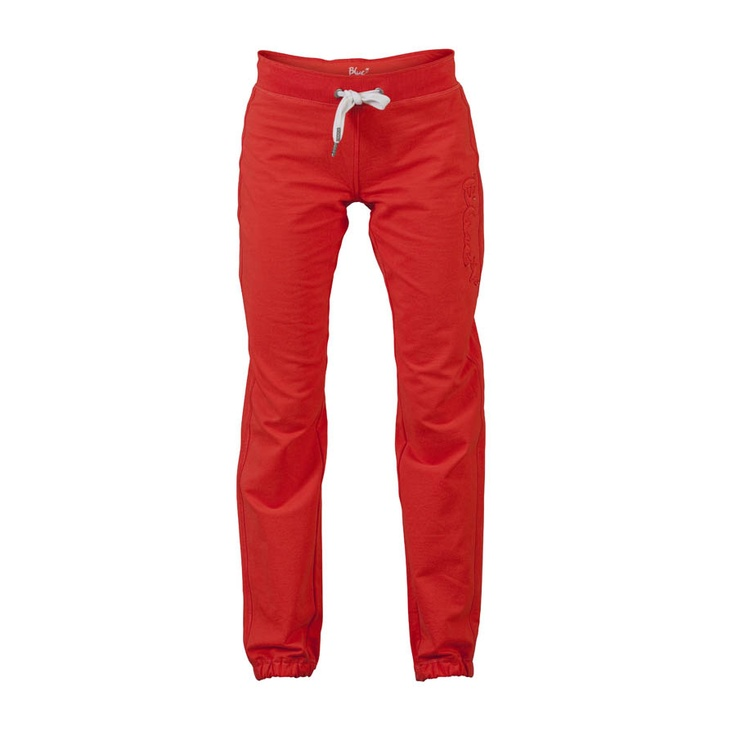 Alfa Blue sweat Pants in color flame