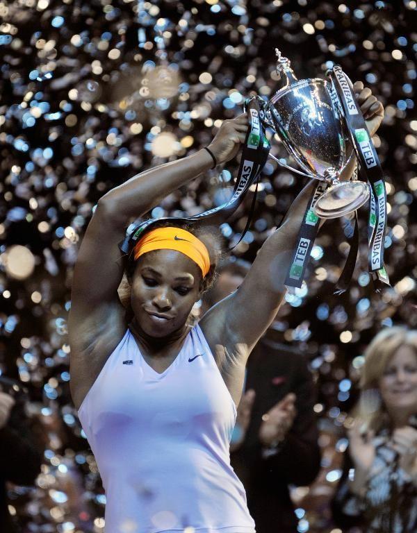 VEGAN SERENA WILLIAMS WINS WTA CHAMPIONSHIPS - TheAllAnimalVegan.com