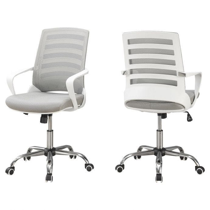 Monarch Chaise De Bureau Surplus Rd Upholstered Office Chair White Office Chair Stylish Office Chairs