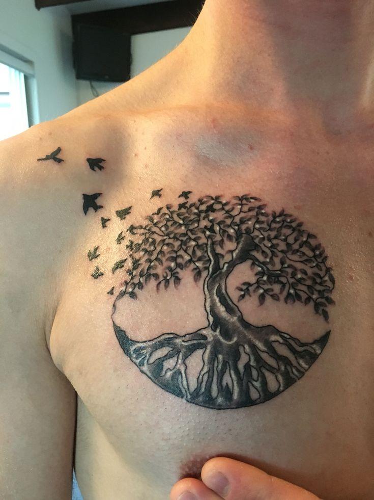 Tree Of Life Tattoo With Names: Life Tattoos, Tree Of Life Tattoo