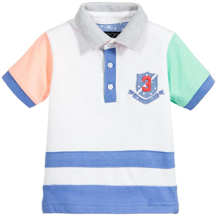 Baby boys polo shirt by Mayoral.
