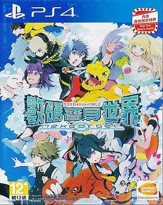 Digimon World Next Order (with Bonus DLC) PS4 CHINESE Asia version BRAND NEW