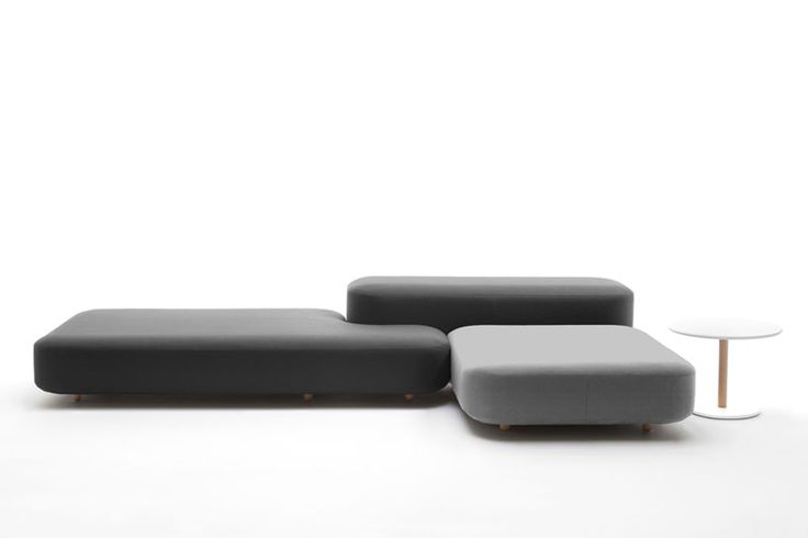 COMMON is a minimalist design created by Japan-based designer Naoto Fukasawa for Viccarbe. The sofa is an elegant modular system of seats and benches