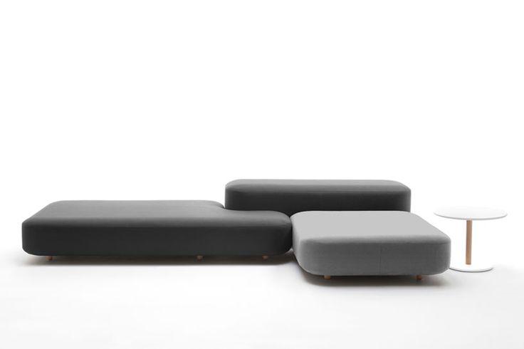 naoto fukasawa: common modular seating for viccarbe - designboom www.dotorangedesign.com