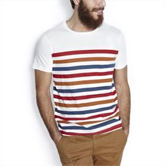 Tee-shirt homme, polo homme, t shirt blanc, polo manches longues - Jules