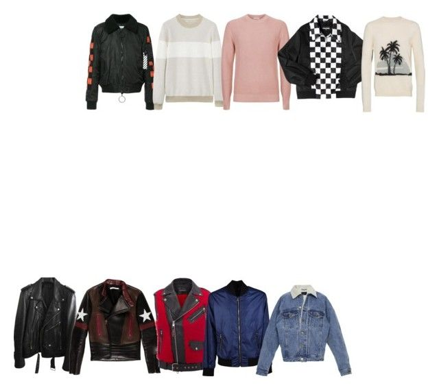 """""""3"""" by pasanidi-konstantin on Polyvore featuring BLK DNM, Givenchy, Alexander McQueen, Off-White, Dolce&Gabbana, Fear of God, MANGO MAN, Sandro, Dsquared2 и Yves Saint Laurent"""