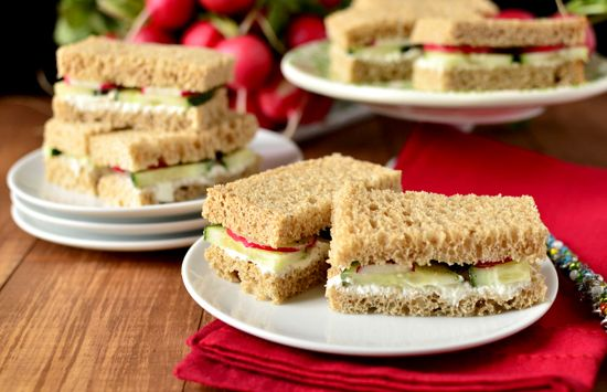 Let's Party: Easy Finger Sandwiches for Party Season | BHG Delish Dish