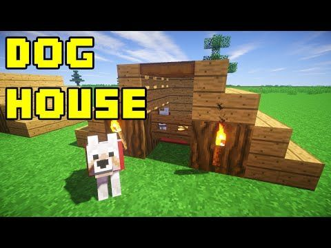 How To Make A Simple Dog House In Minecraft