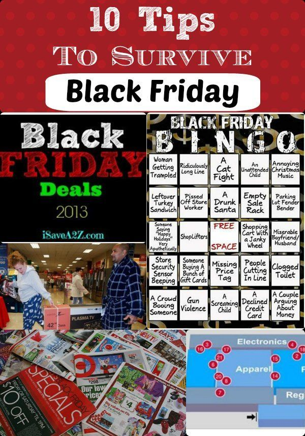 tips to survive black friday