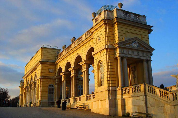 Gloriette, Schloss Schönbrunn, Wien, Østerrike. Foto: Arnold Weisz ©