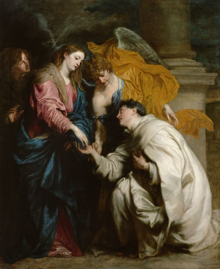 Anton van Dyck: The Vision of the Blessed Hermann Joseph. 1629/1630.