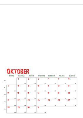 kalender met datum uitprinten en kinderen erboven iets laten tekenen, leuk, elk jaar een nieuwe originele kalender!