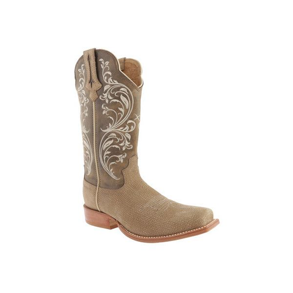 Women's Twisted X Boots WRR0003 Red River ($127) ❤ liked on Polyvore featuring shoes, boots, leather boots, tall boots, red cowboy boots, cowgirl boots and knee high cowboy boots