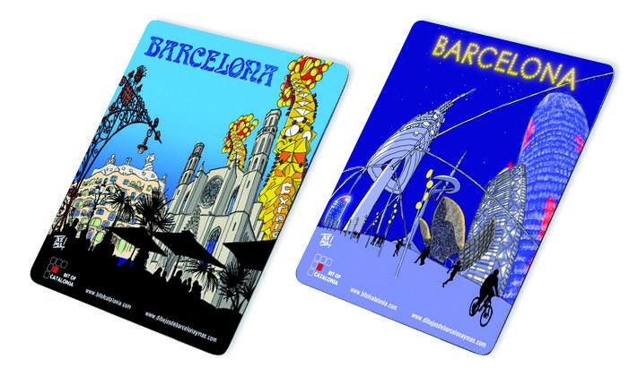 Alfombrillas de ratón Barcelona. Mouse Pad Barcelona. Souvenir de Barcelona