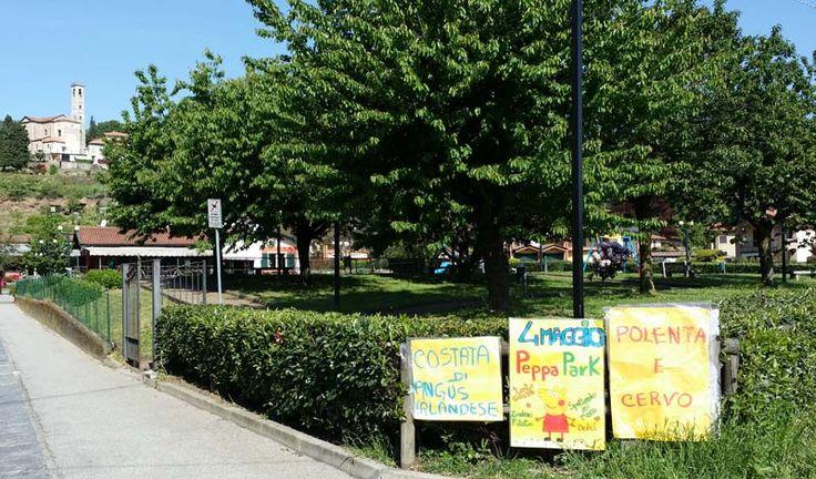 Peppa Park: una giornata con Peppa Pig a #Ghevio ( #Meina #Novara #Piedmont #Italy ) http://ilvergante.com/2014/04/29/peppa-park-una-giornata-con-peppa-pig/