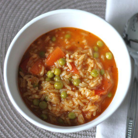 Tomaten-Reis-Suppe