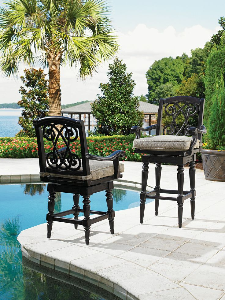 Elegant Outdoor Swivel Counter Stool These Would Look Amazing At My Counter!