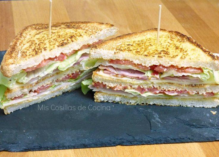 Mis Cosillas de Cocina: Sandwich Club