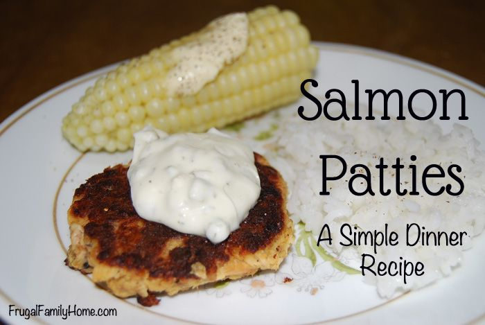 Image Result For How To Make Salmon Pattiesa