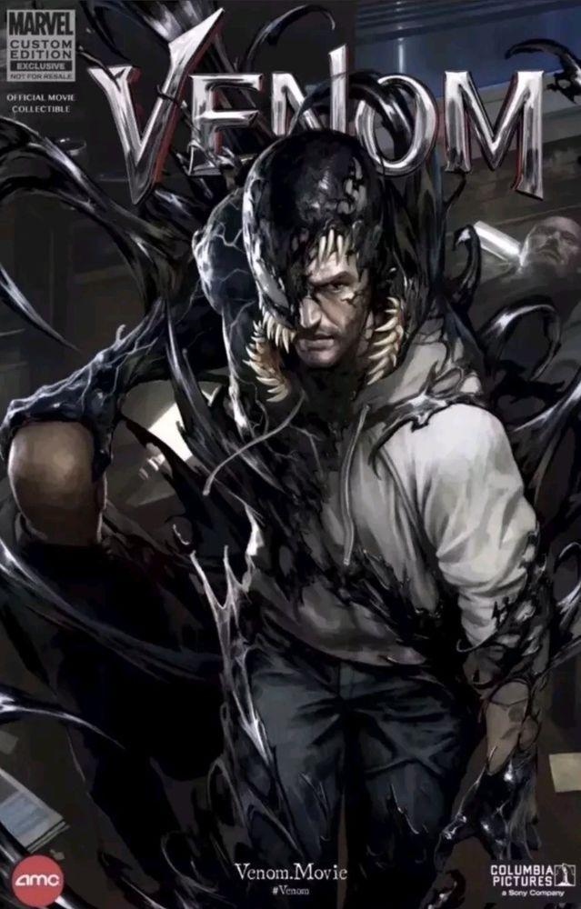 Details about Marvel Limited Edition AMC Exclusive Movie Venom #1