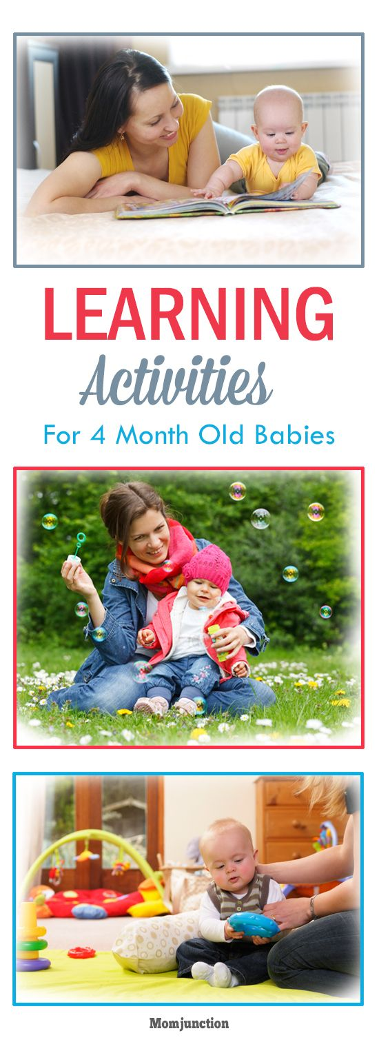 3 Learning Activities For 4 Month Old Baby