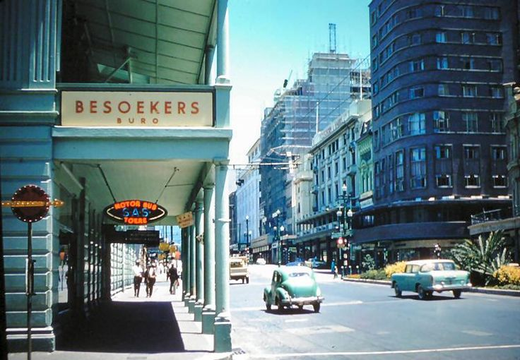 A 1959 photo of what was then known as Salisbury, Rhodesia