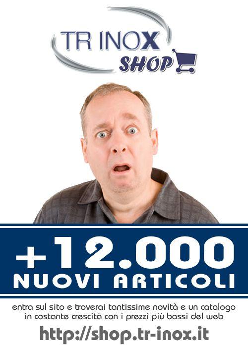 www.trinoxshop.com Tutta la #nautica che cerchi al miglior prezzo del web. #Accessori #nautici, #contenitori #alimentari, #artigianato #nautico made in italy