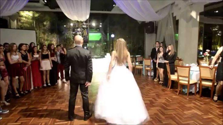 Sofía fiesta de 15 años, vals con baile sorpresa con su papá. #CoreografiaQuinceanera