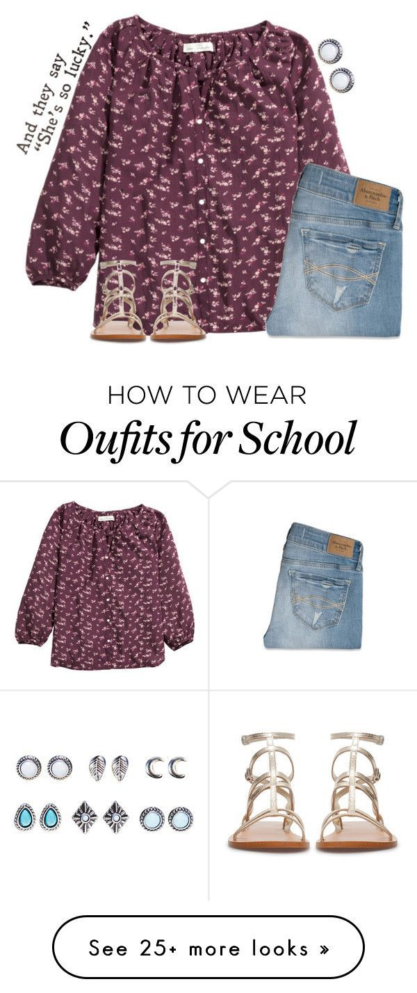 """School tomorrow"" by madison426 on Polyvore featuring H&M, Abercrombie & Fitch, Wet Seal, Zara, women's clothing, women, female, woman, misses and juniors"