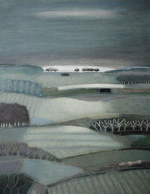706- A grey sky morning-90x70cm | Rob van Hoek Landscapes
