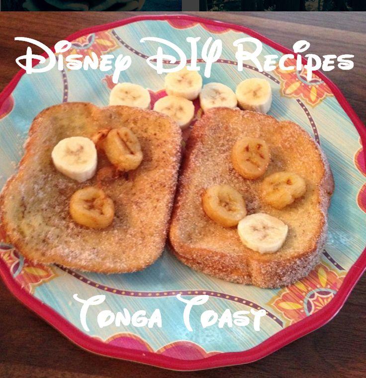 3 Disney DIY Recipes: Tonga Toast, Dole Whip and PB&J Float! A taste of Disney at Home