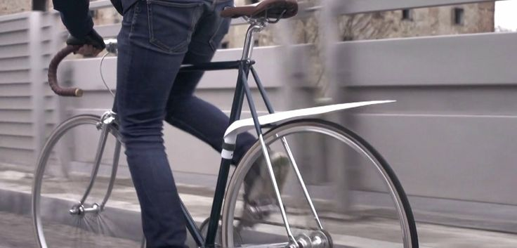 MUSGUARD - The Story. Musguard is a removable, rollable bike fender. This is a short story about its creator and the way it was developed.  ...