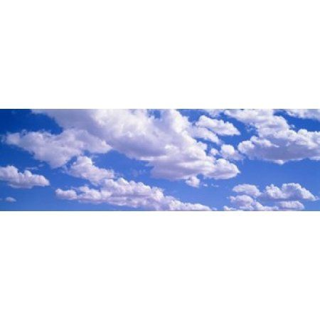 Clouds Moab UT USA Canvas Art - Panoramic Images (36 x 12)