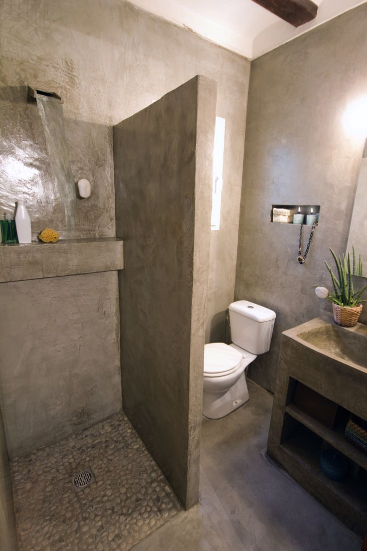 Baños Microcemento Pulido:Cuarto de baño and Decoración on Pinterest