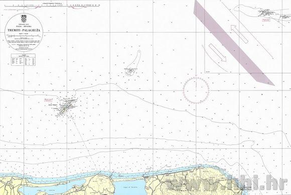 A Splitben működő Horvát Hidrográfiai Intézet (Hrvatski Hidrografski Institut) kiadványai és térképei elengedhetetlen kellékei egy adriai hajóútnak.A térképek és kiadványok legtöbbjéhez rendszeresen javításokat tesznek közzé, ezek folyamatos követése és a térképeken való átvezetése a felelős hajós