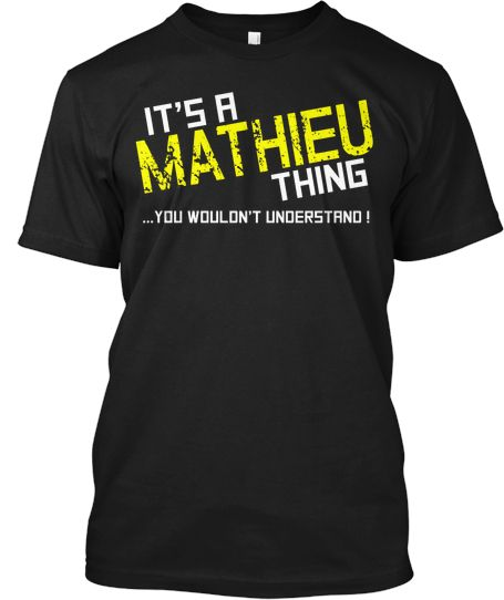 MATHIEU Thing (LIMITED EDITION) Tee | Teespring