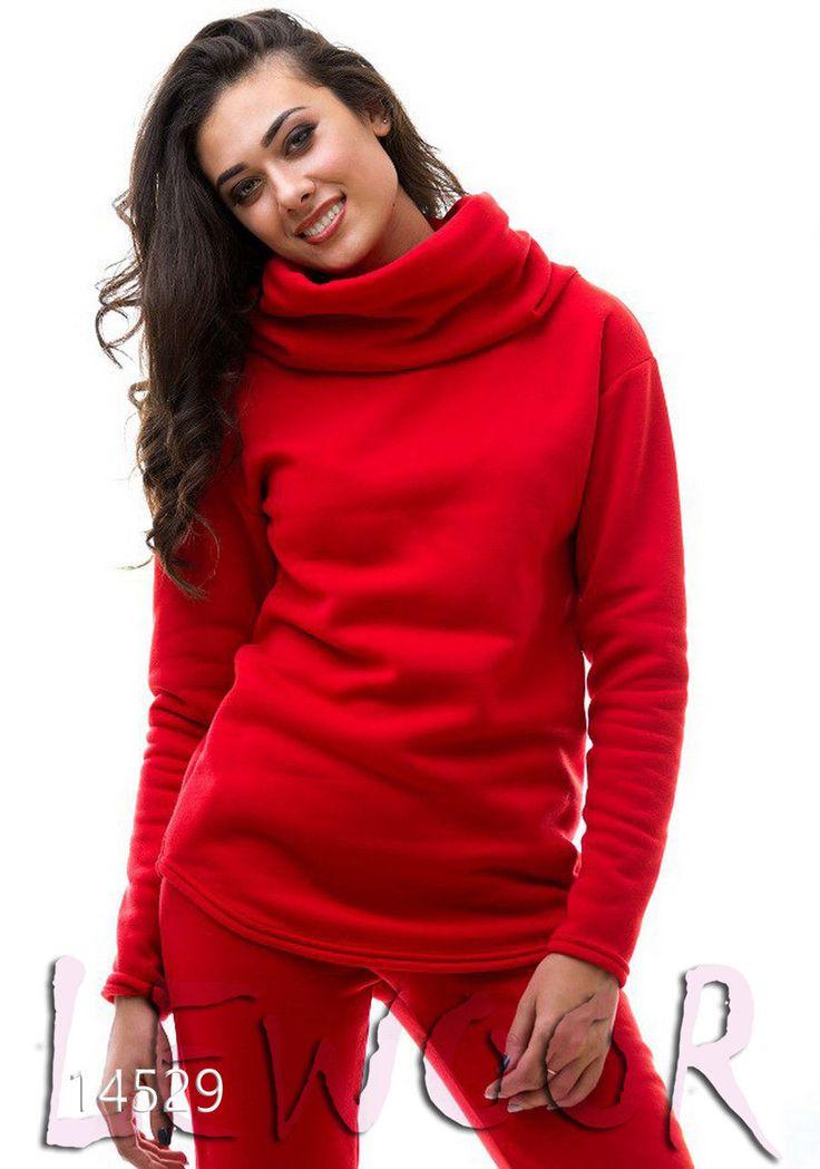 Комфортный костюм (туника с брюками) - купить оптом и в розницу, интернет-магазин женской одежды lewoor.com