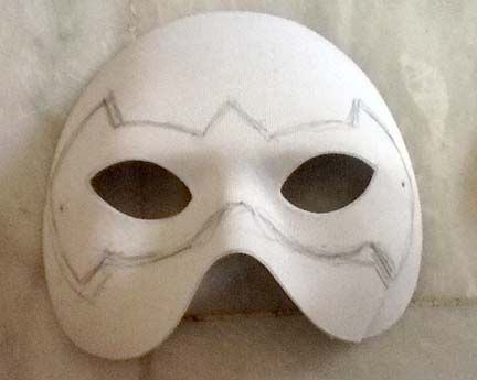 A Simple Way To Make A Robin Mask