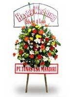 Toko Bunga Bandung Standing Flowers Selamat STDS005