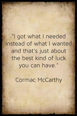 Cormac McCarthy. What a writer.                                                                                                                                                                                 More