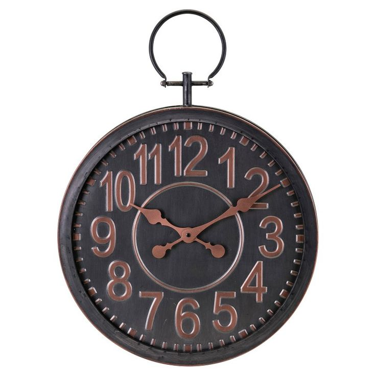 Imax Axel Traditional 17.75 in. Wall Clock - 14616